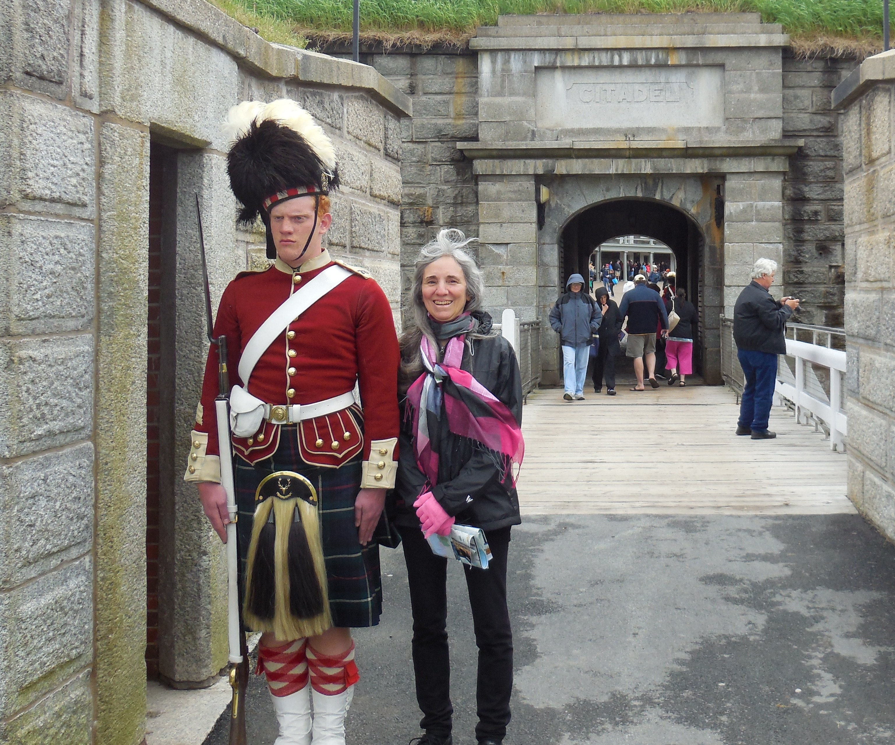 Guard at Fort, Halifax